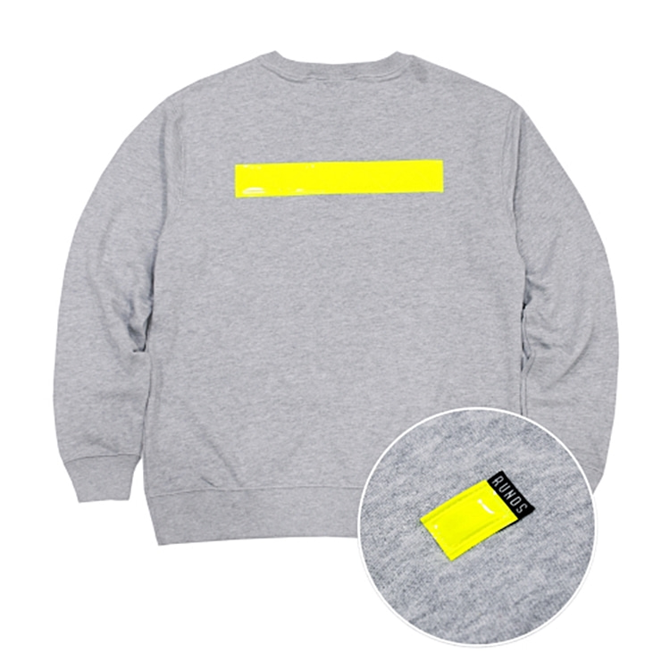 REFLECT SWEATSHIRT - GRAY