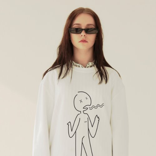 [ODD단독최저가할인]ivory yawn something out long sleeve