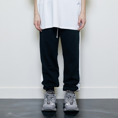 Track Jogger Pants Black/White
