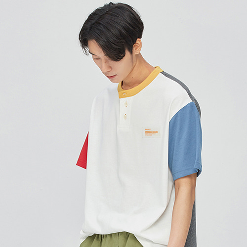 Opening Mix Henley-neck T-shirts (mix)