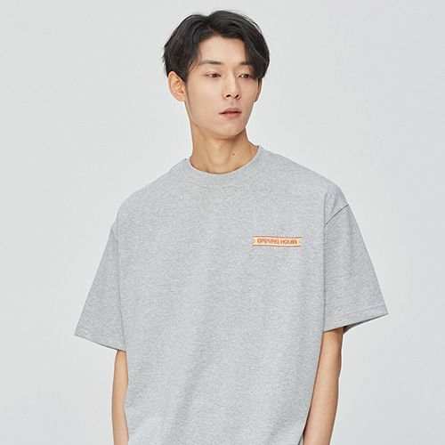 Opening Hours OG T-shirts (gray)