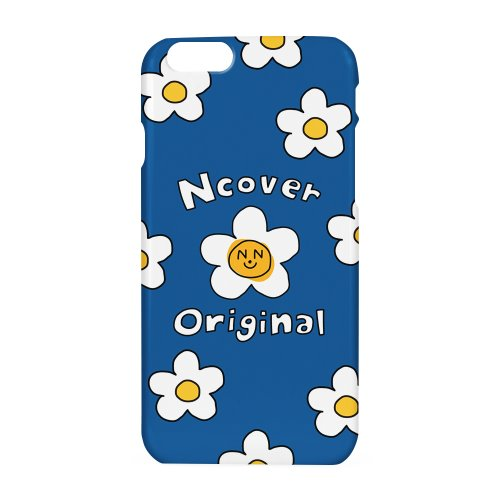 Smile flower case-blue