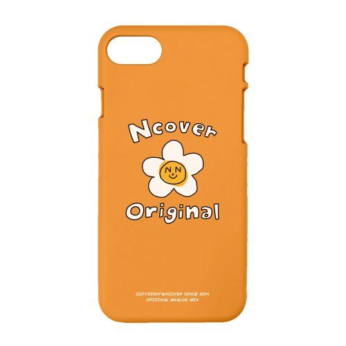 Flower graphic-orange(color jelly case)