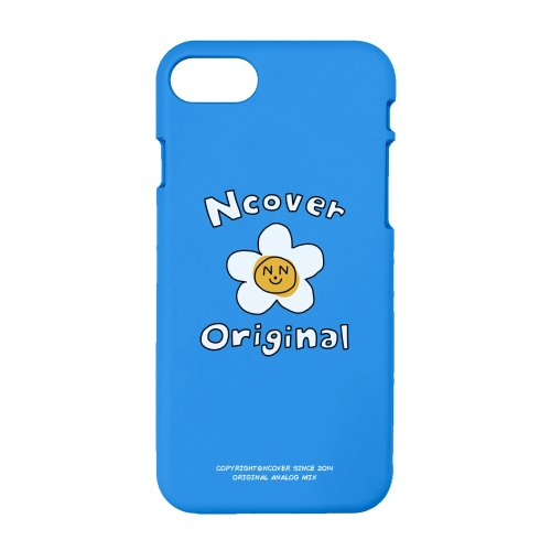 Flower graphic-blue(color jelly case)