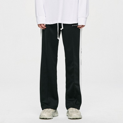 Track Pants - Black/White