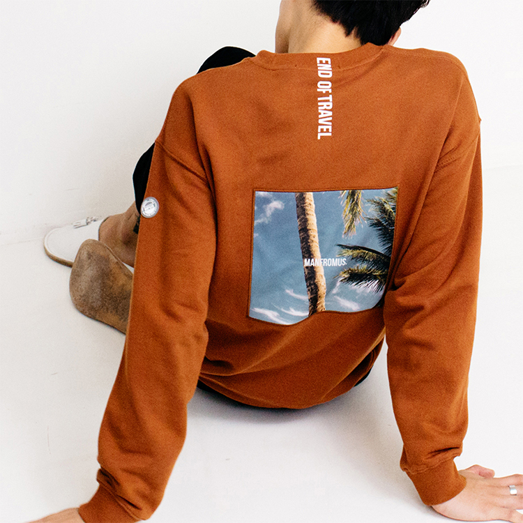 E.O.T SWEATSHIRT - ORANGE BROWN