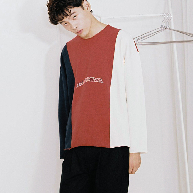 BOX LONG SLEEVE - NV/RE/IV