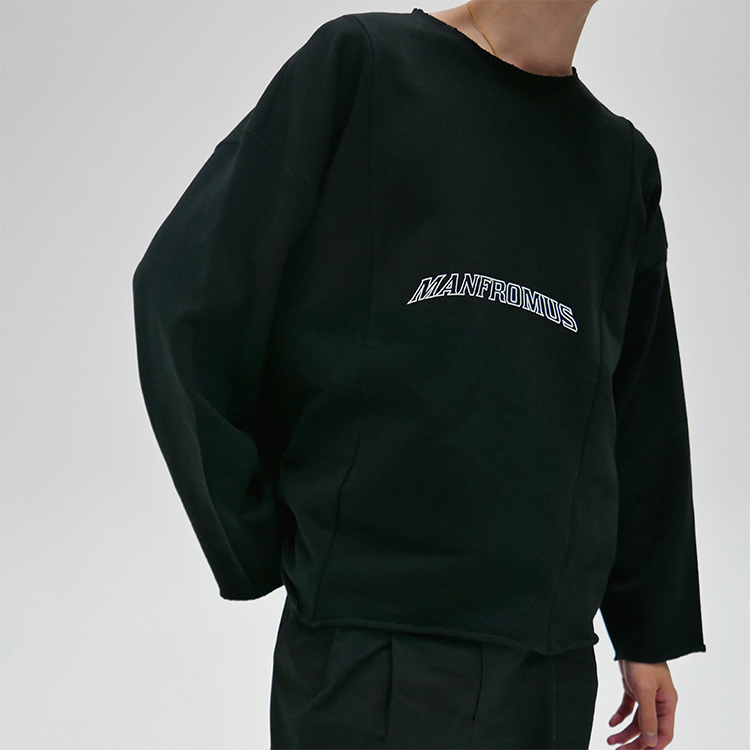 BOX LONG SLEEVE - BLACK