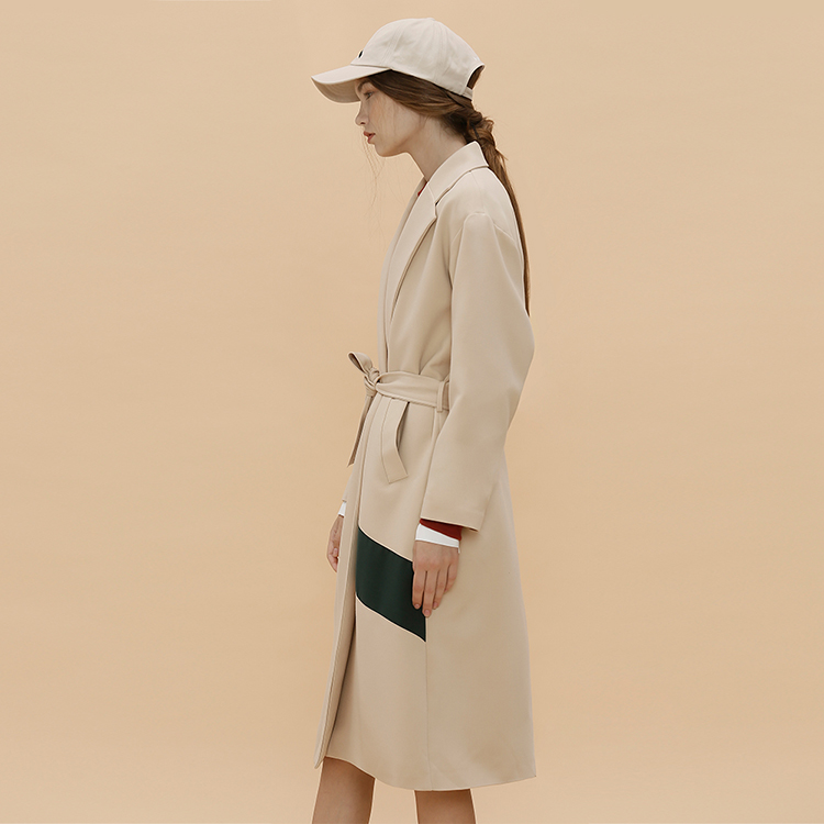 D.ROBE COAT - BEIGE