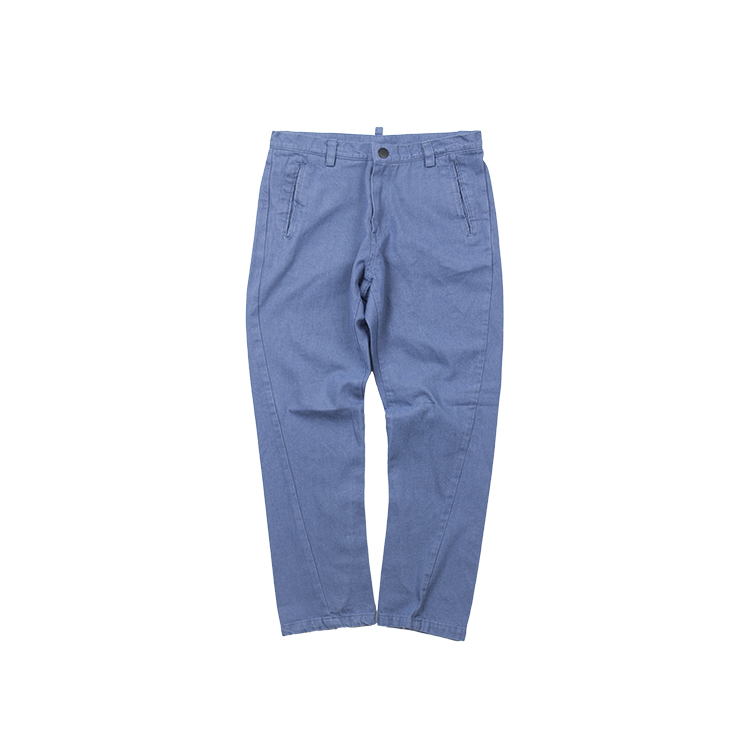 COLOR DENIM PANTS - BLUE