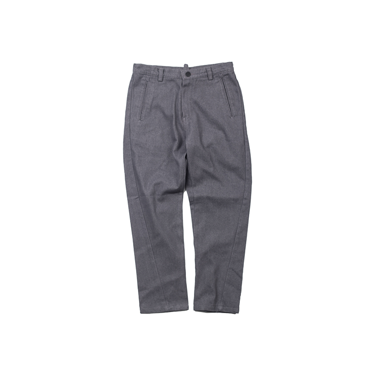 COLOR DENIM PANTS - GRAY