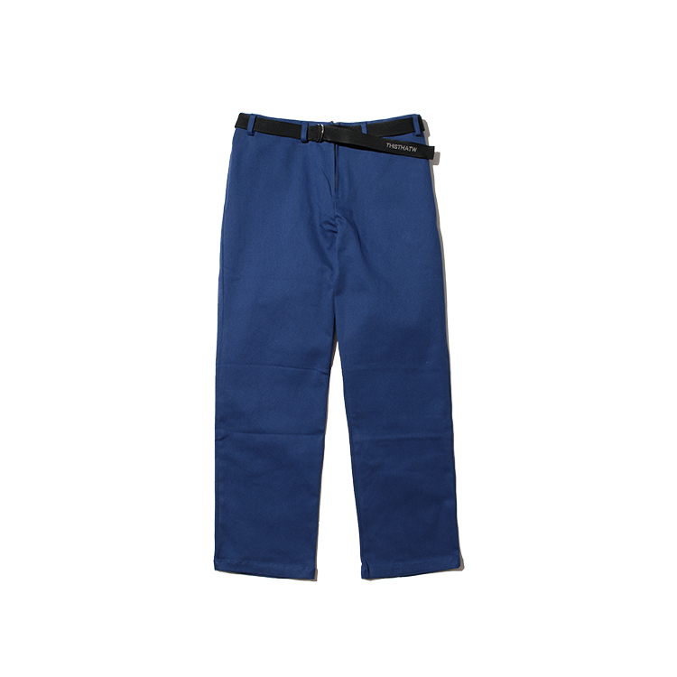 COTTON BELT PANTS - BLUE