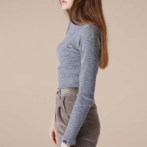 THINK BASIC TURTLENECK - GREY