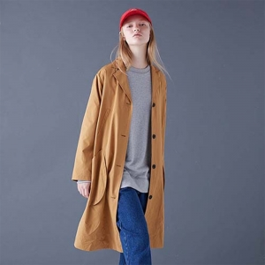GLOVE COAT - CAMEL