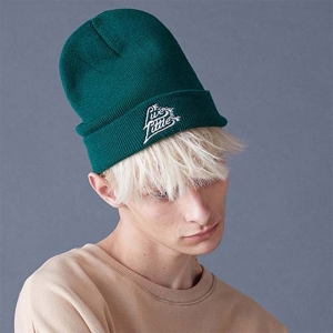 SCULPTOR 2WAY BEANIE - GREEN