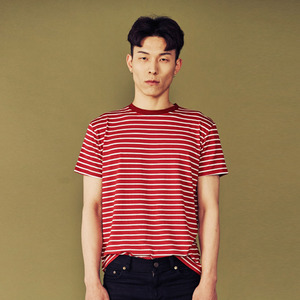 STRIPE T - RED