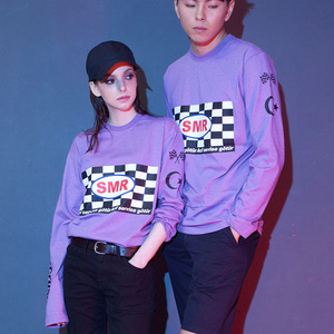 HAZE RACER TEE - LIGHT PURPLE