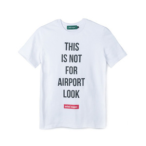 A-LOOK BASIC T-SHIRTS - WHITE