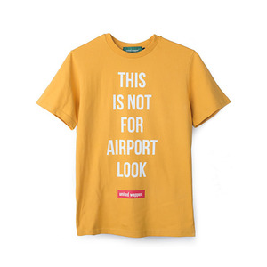 A-LOOK BASIC T-SHIRTS - MUSTARD