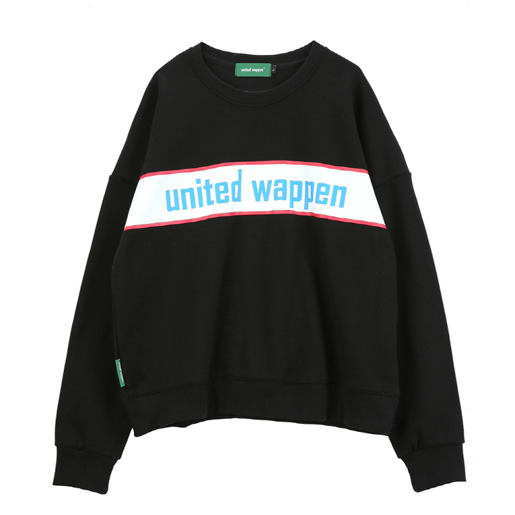 BASIC OVERSIZE SWEATSHIRTS - BLACK