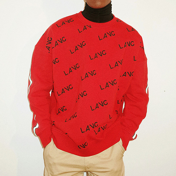 LAVG Sweat Shirt - RED