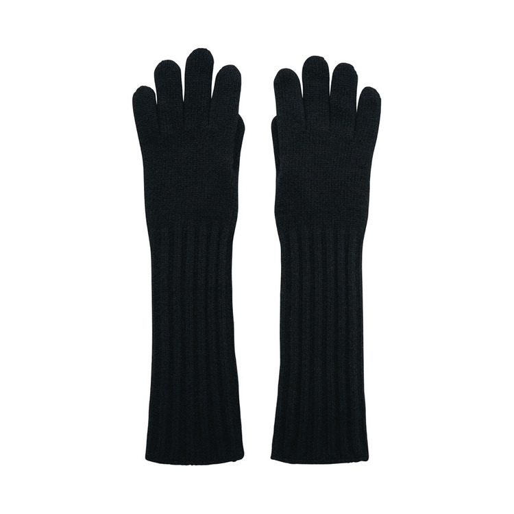 LONG GLOVES - BLACK