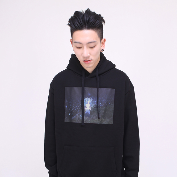 BELIEF HOOD - BLACK