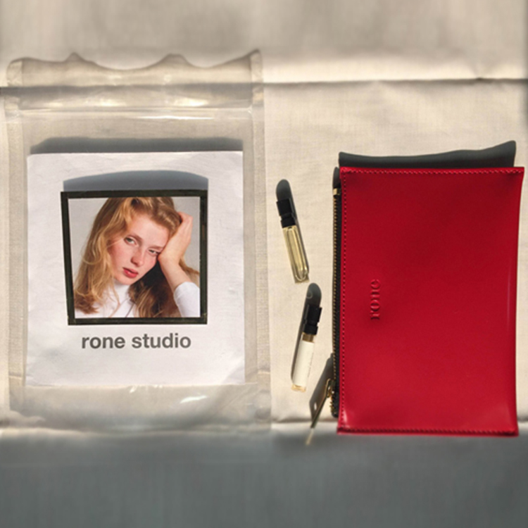 RONE MORNING WALLET - RED