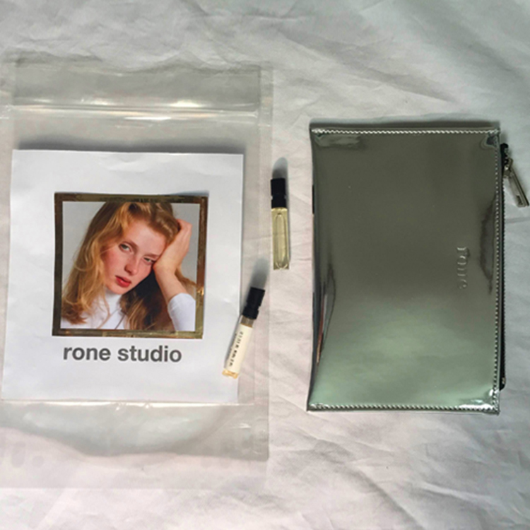 RONE MORNING WALLET - SILVER