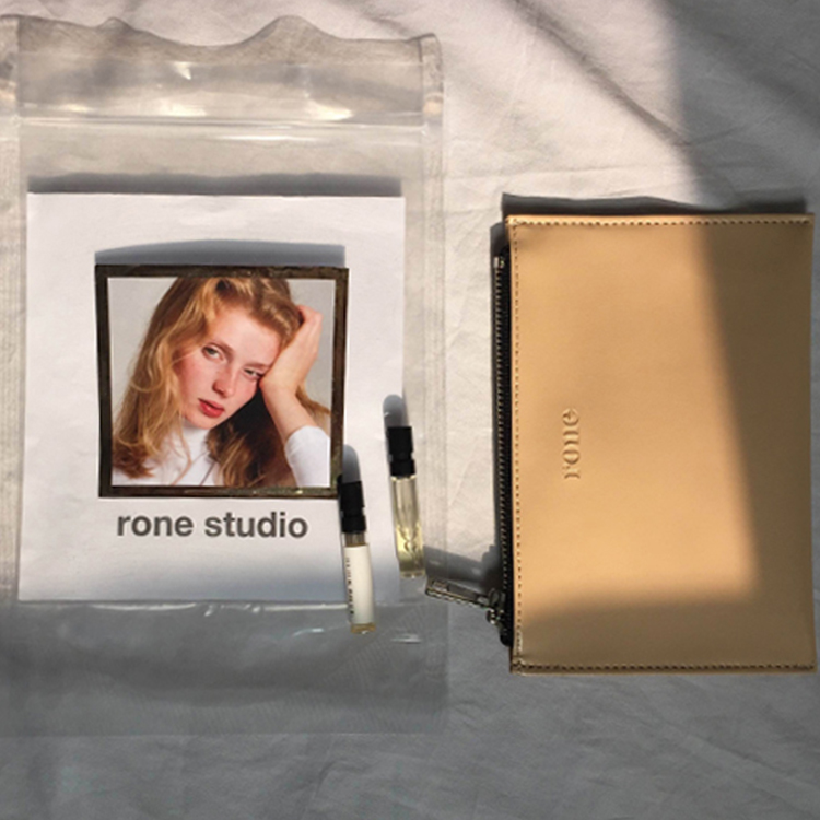 RONE MORNING WALLET - BEIGE