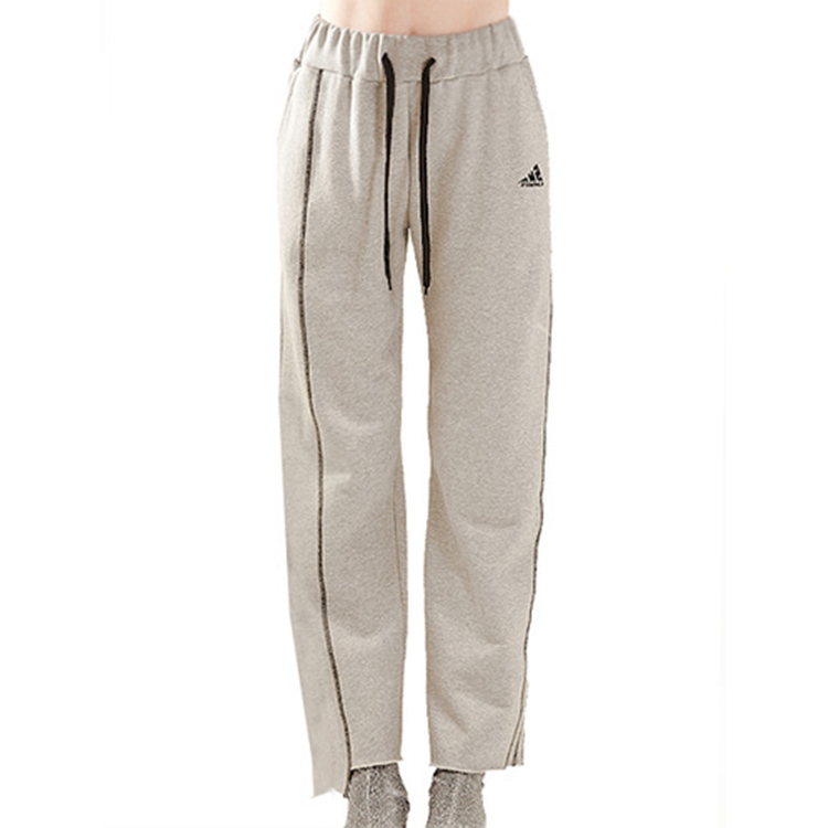 stich string pants - GRAY