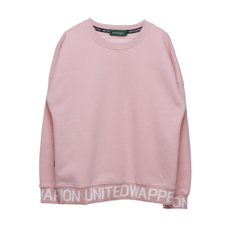 LINE UP OVERSIZE SWEATSHIRTS - PINK