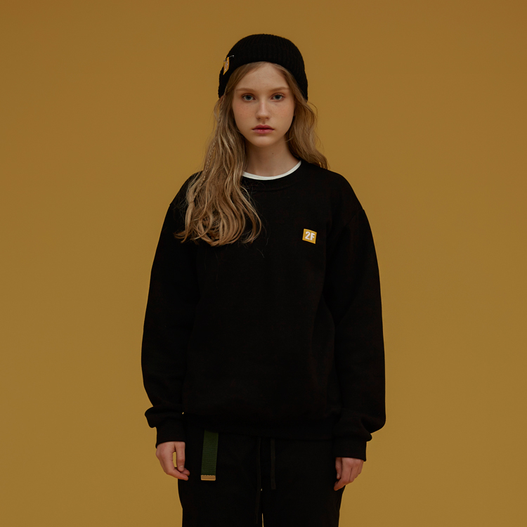 2F/ LOW LOGO MTM - BLACK