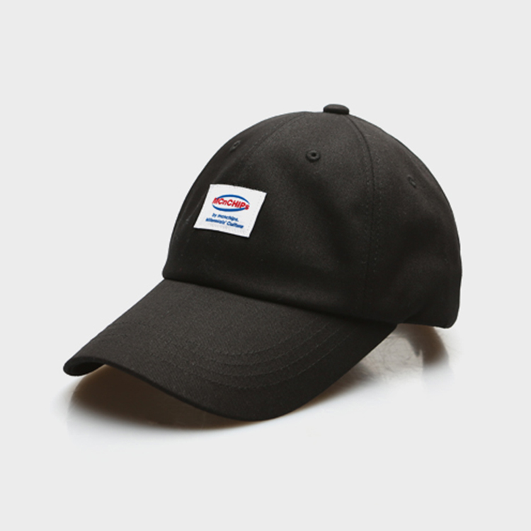HOLOGRAM LABEL 6P CAP - BLACK