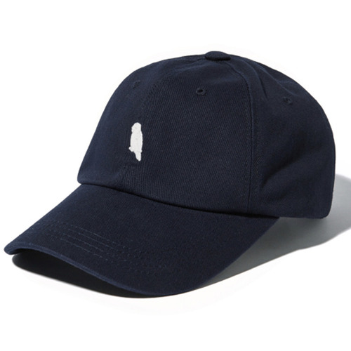 KANCO CURVED 6PANEL CAP - NAVY