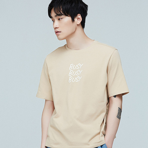 T-SHIRT - BEIGE BUSY T
