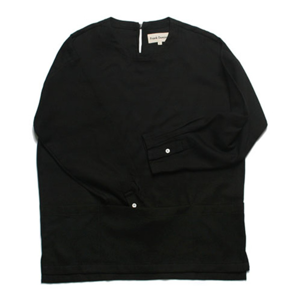 BUCKLE PULLOVER SHIRT(BLACK)