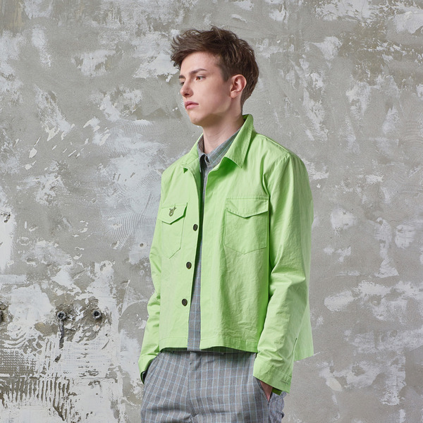 EDIT SHIRT JACKET - FLUORESCNT