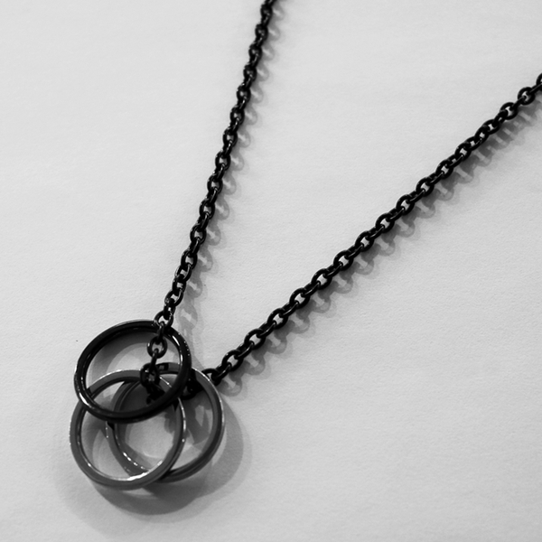 THINCKER STEEL RING NECKLACE ver.3