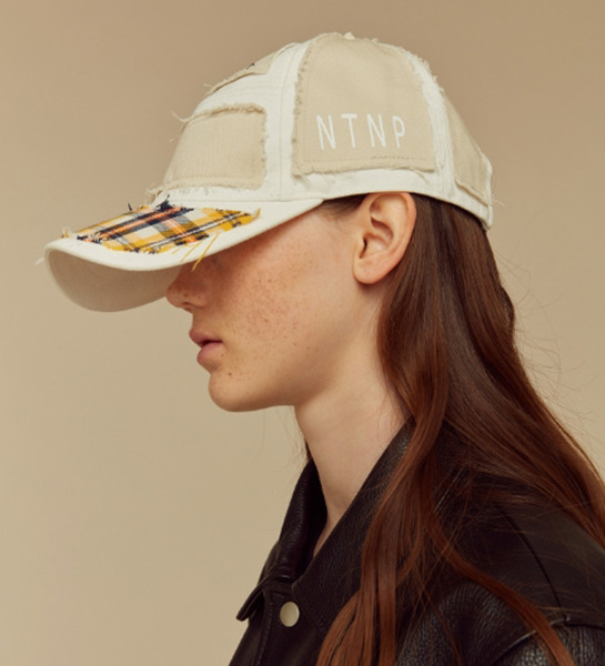23.65 x NTNP White/Yellow check CAP