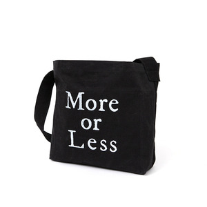 MORE-OR-LESS POCKET BAG(+KEYRING SET) - BLACK