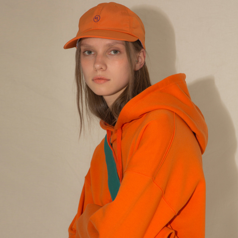 MOL LOGO CAP(+KEYRING SET) - ORANGE