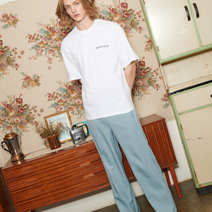 STRAIGHT LINE PANTS_BLUE