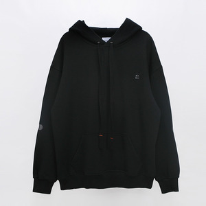 Elbow Point Hoodie Sweatshirt - BLACK