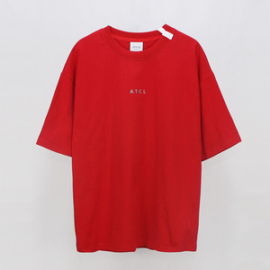 Ribbon point T-shirt - RED