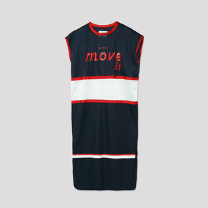 Basketball Mesh Dress - NAVY
