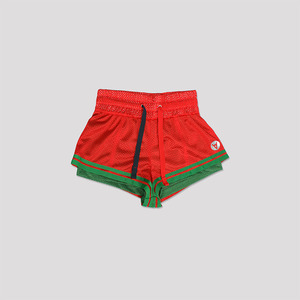 Short Distance Mesh Shorts - RED