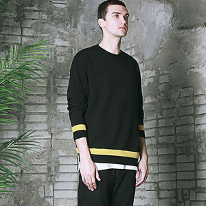 ST ONE INVOLVE KNIT -BLACK