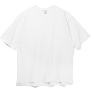 10`s Overfit heavy-duty T-shirts Off-white