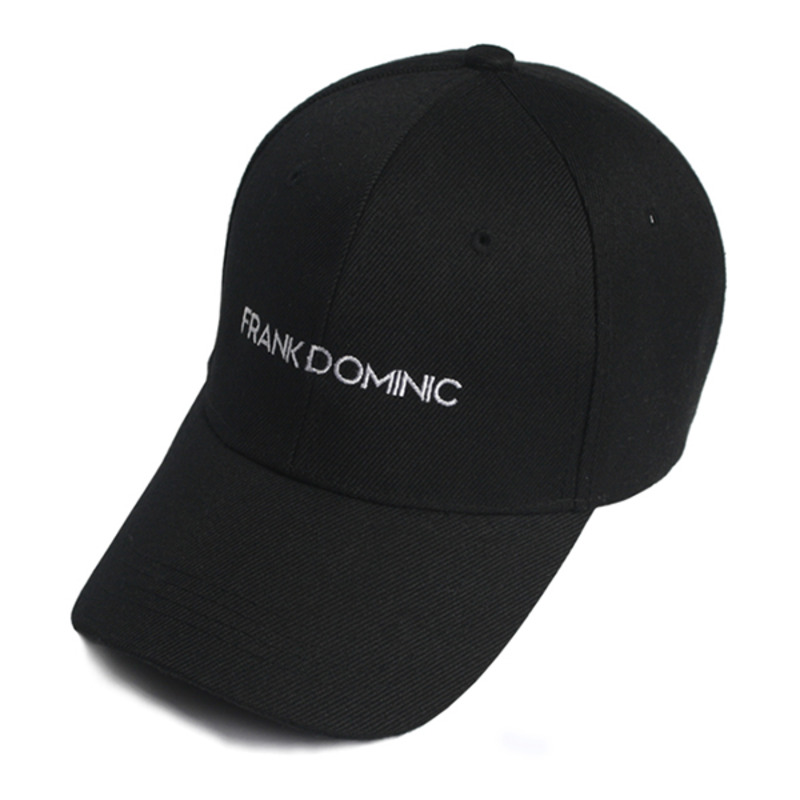 FRANK DOMINIC LOGO BALL CAP(BLACK)